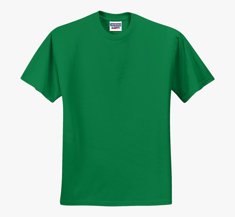 Kelly - Blank Green T Shirt Template, Transparent Clipart
