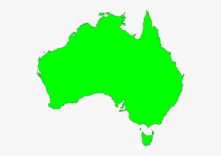 Australia Map Vector Ai Clipart , Png Download - Banksia Spinulosa Var Collina Distribution, Transparent Clipart