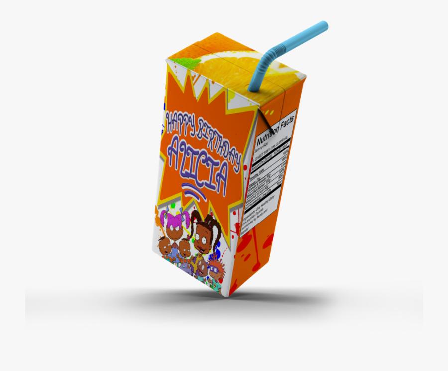 Juice Box Carton Transparent Png, Transparent Clipart