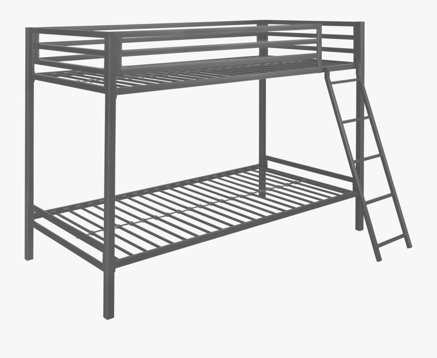Twin Bunk Beds Metal, Transparent Clipart