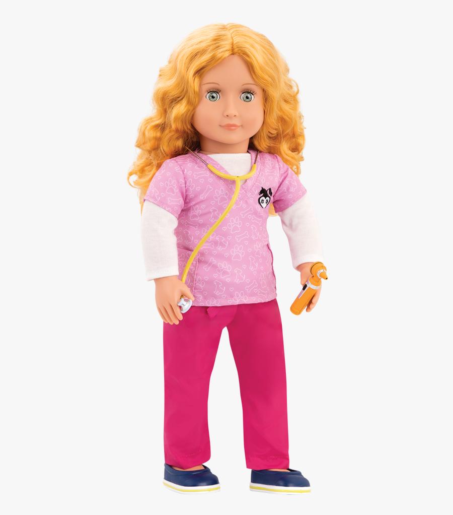Toy Dolls Png - Our Generation Dolls Anais, Transparent Clipart