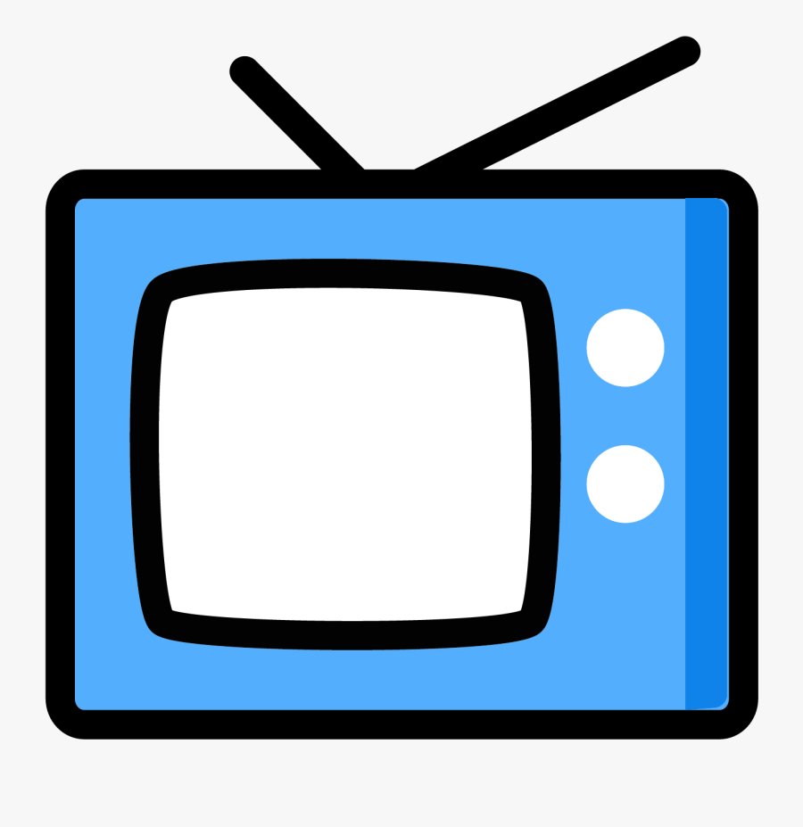 Television Clipart Tv Broadcasting - Tv Vector Png, Transparent Clipart