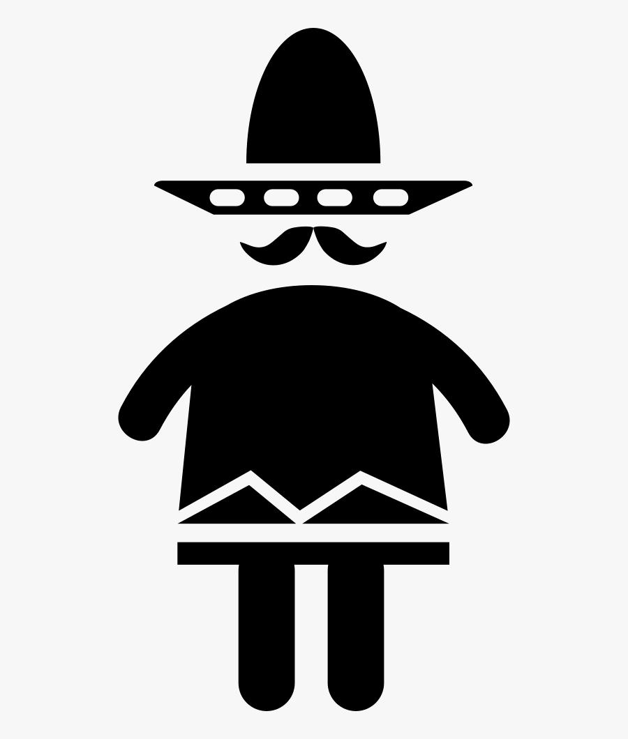 Mexican Man - Portable Network Graphics, Transparent Clipart