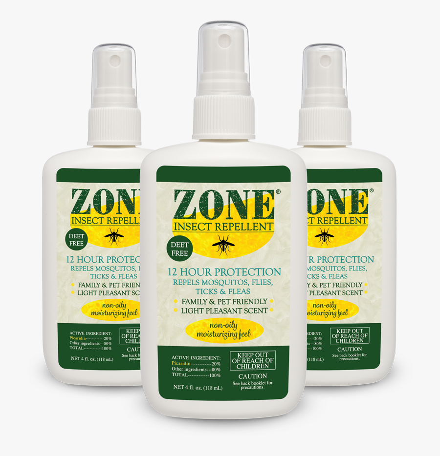 Zone Insect Repellent, Transparent Clipart