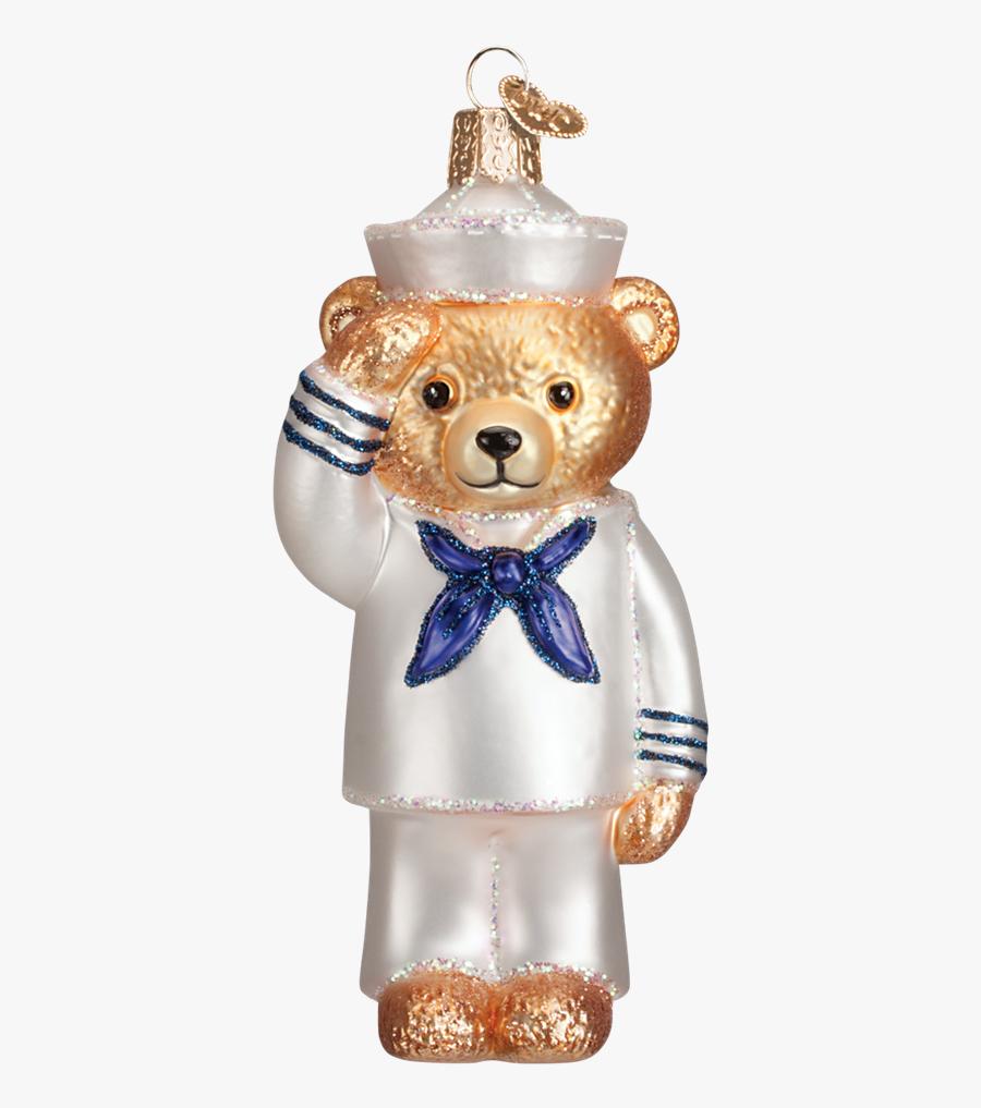 Transparent Christmas Bear Png - Christmas Ornament, Transparent Clipart