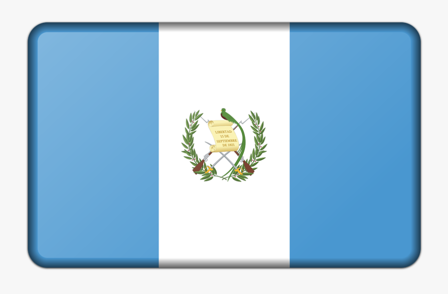 Banner, Decoration, Flag, Guatemala, Sign, Signal - Bandera De Guatemala Png, Transparent Clipart