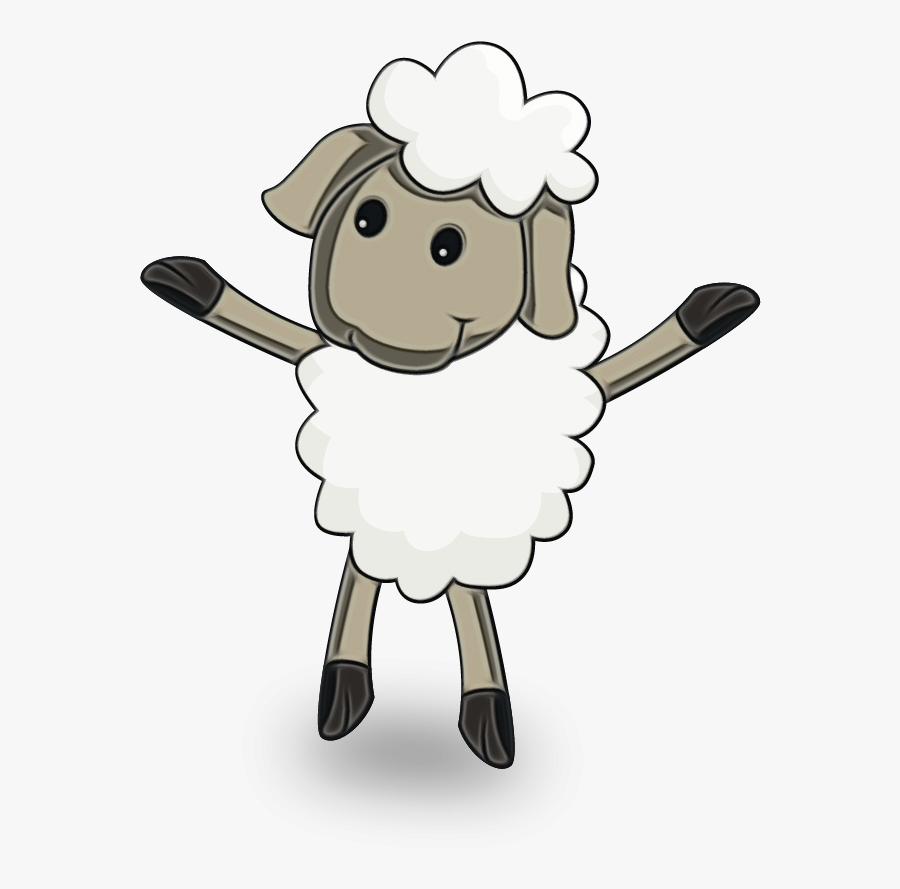 #sheep #eidaladha #eidsaeed #eidmubarak #eid #aladha - Cute Cartoon Ovelha Png, Transparent Clipart