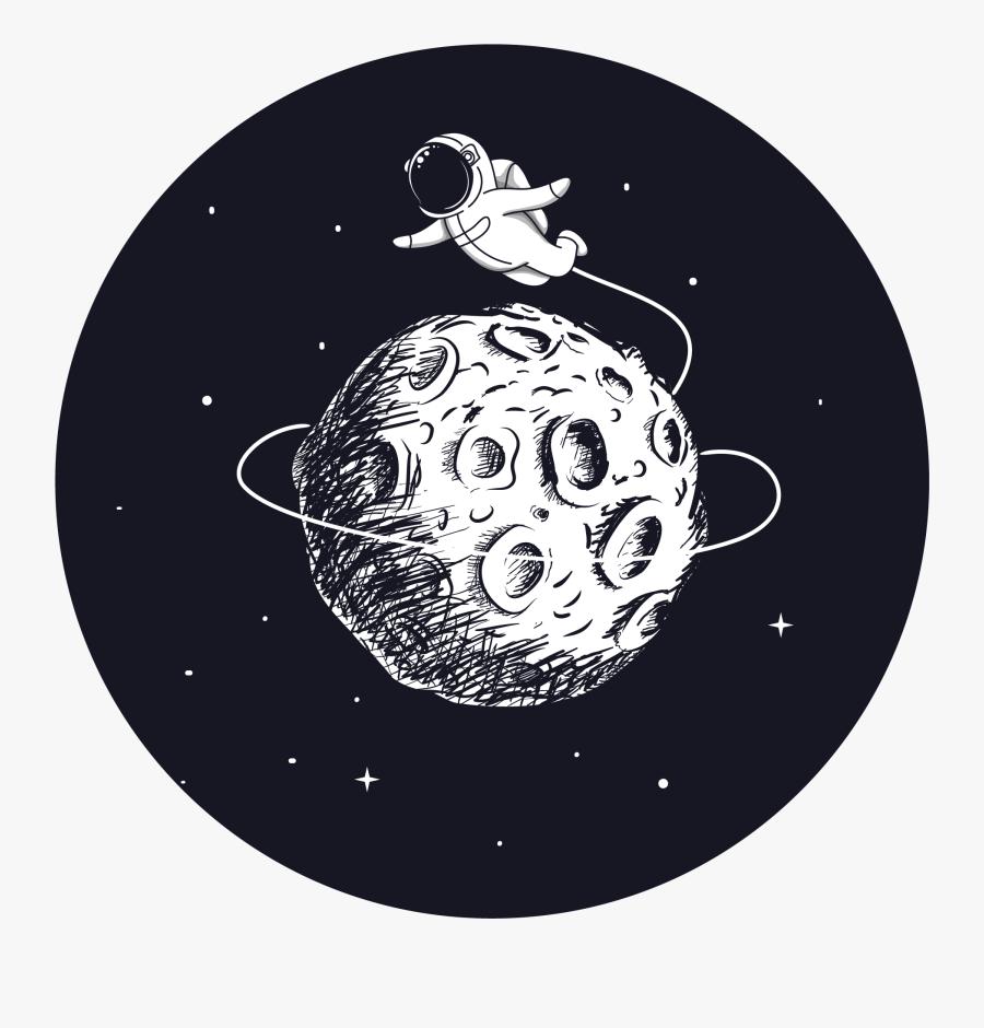 Transparent Floating Stars Png - Astronaut Cartoon, Transparent Clipart