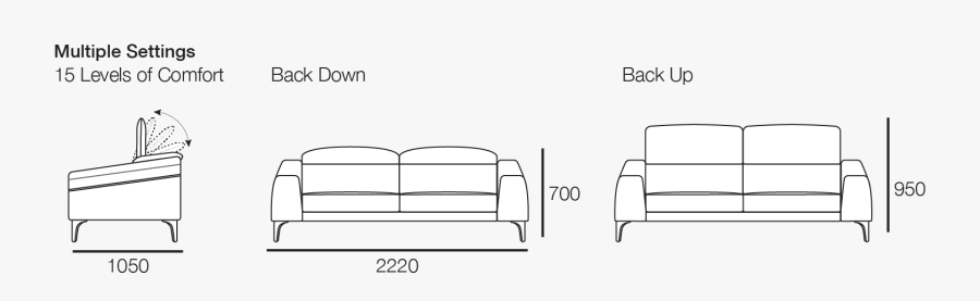 Transparent Back Of Couch Png - Studio Couch, Transparent Clipart