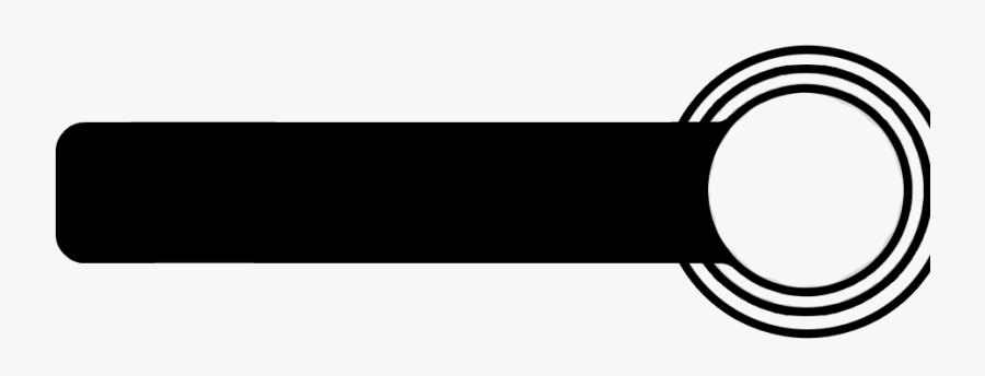 Simple Black Banner Template - Black Banner Vector Png, Transparent Clipart