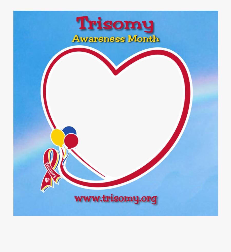 Tri18 Profile Template - Heart, Transparent Clipart