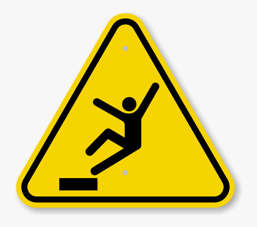 Fall Hazard Sign Clipart , Png Download - Helicopter ...