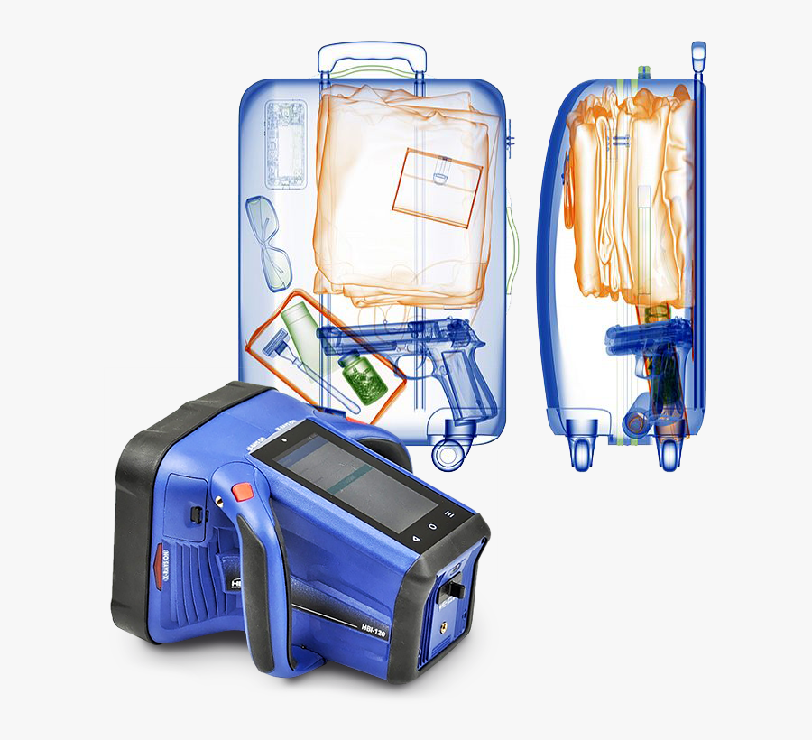 Hbi-120 - Hand Held Back Scatter X Ray, Transparent Clipart