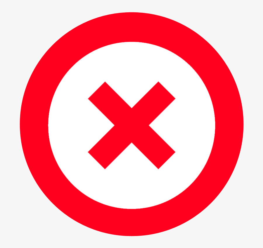 Circle X Clipart, Transparent Clipart