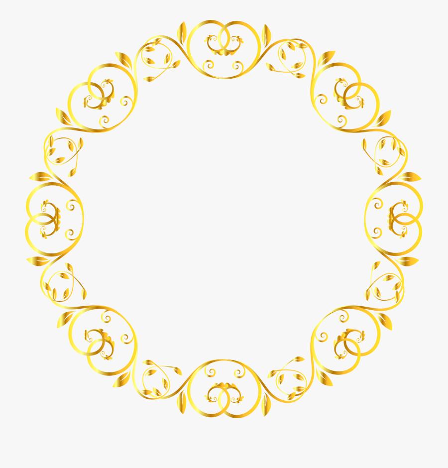 Decoration Clipart Circle, Transparent Clipart