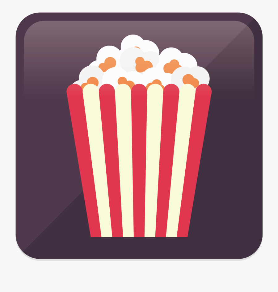 Vector Popcorn Icon Png Download - Icon, Transparent Clipart