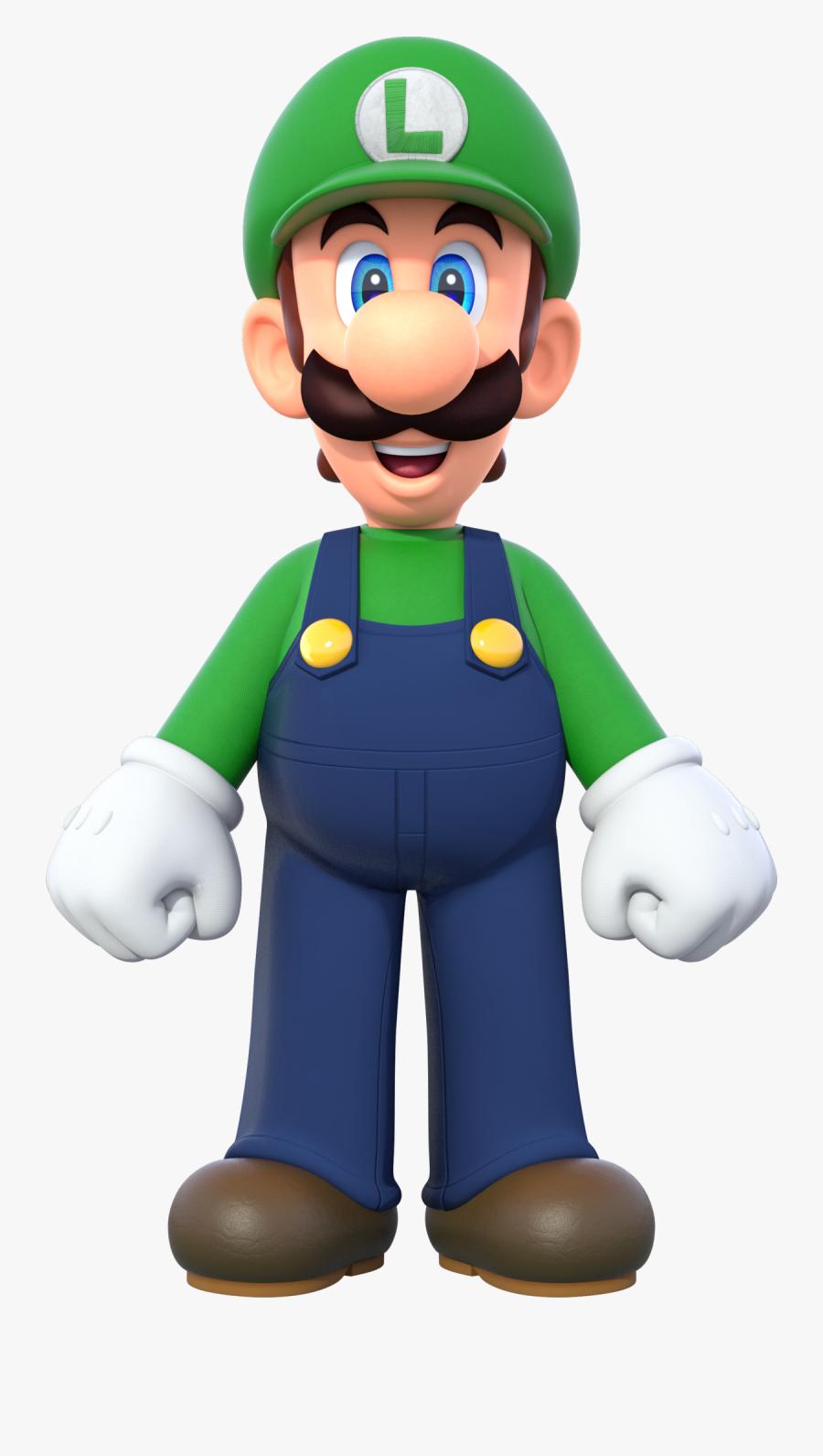 Mario Bros, Luigi Super Mario Wiki The Mario Encyclopedia - New Super Mario Bros U Deluxe Luigi, Transparent Clipart