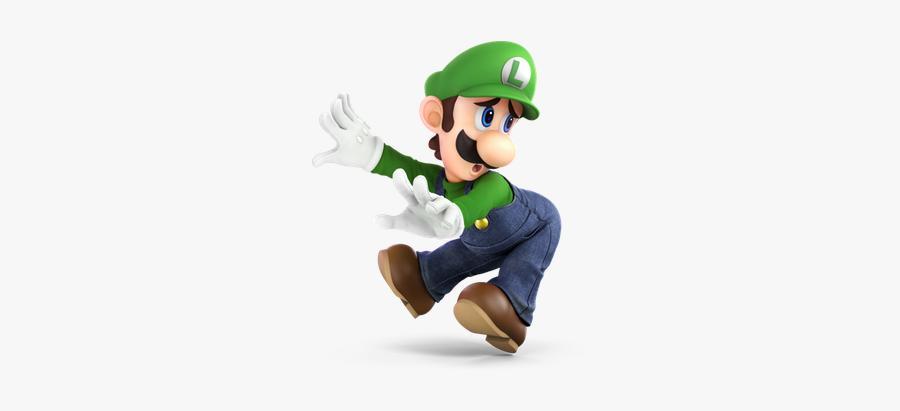 Luigi Ssbu - Luigi Smash Bros Ultimate, Transparent Clipart