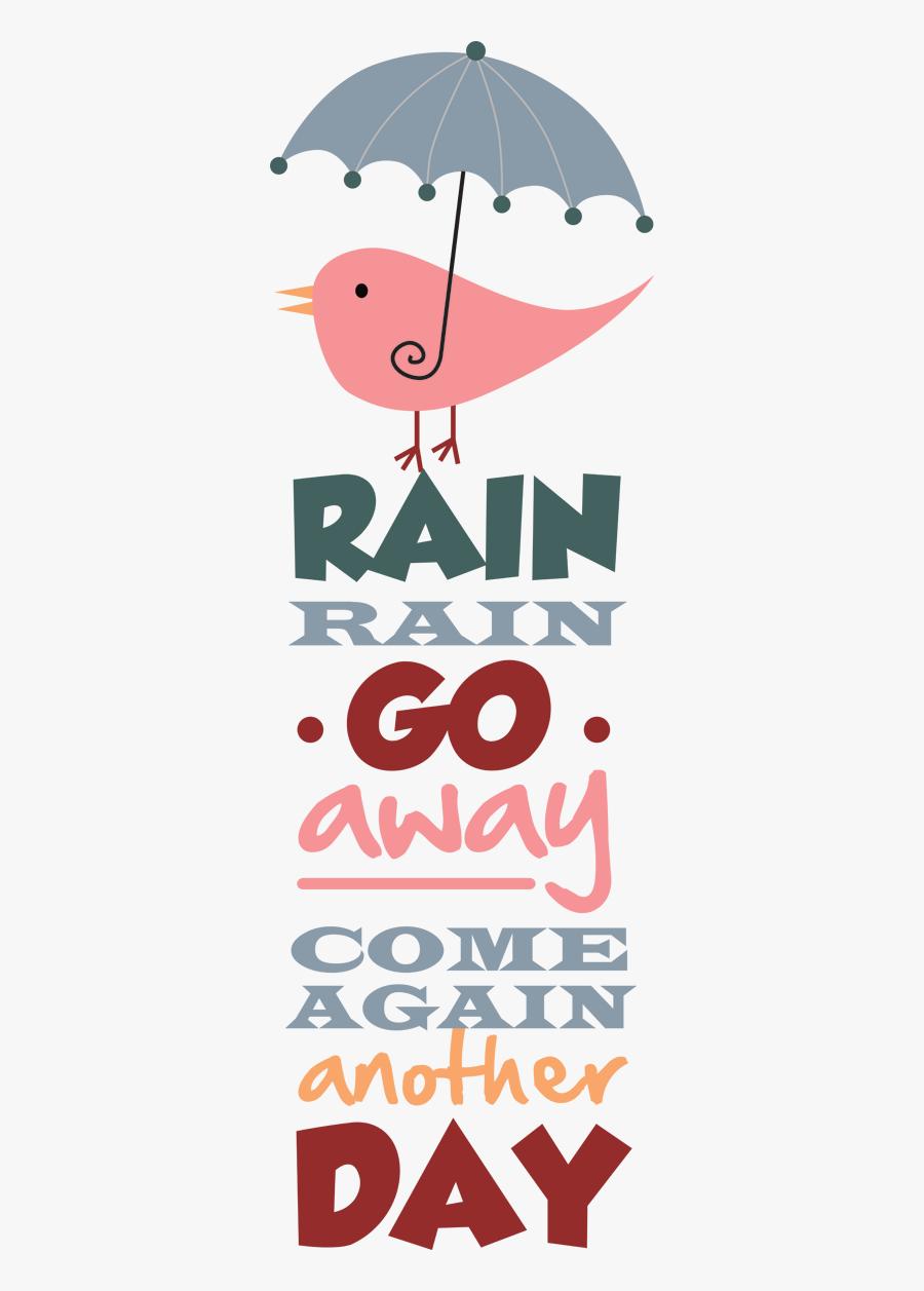 Shower Clipart Rain Rain Go Away - Rain Rain Go Away Transparent, Transparent Clipart