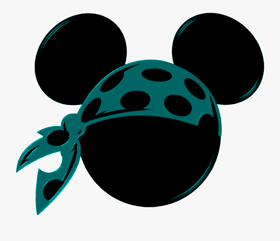 Clip Art Minnie Mouse Pirate Clipart - Mickey Pirate, Transparent Clipart