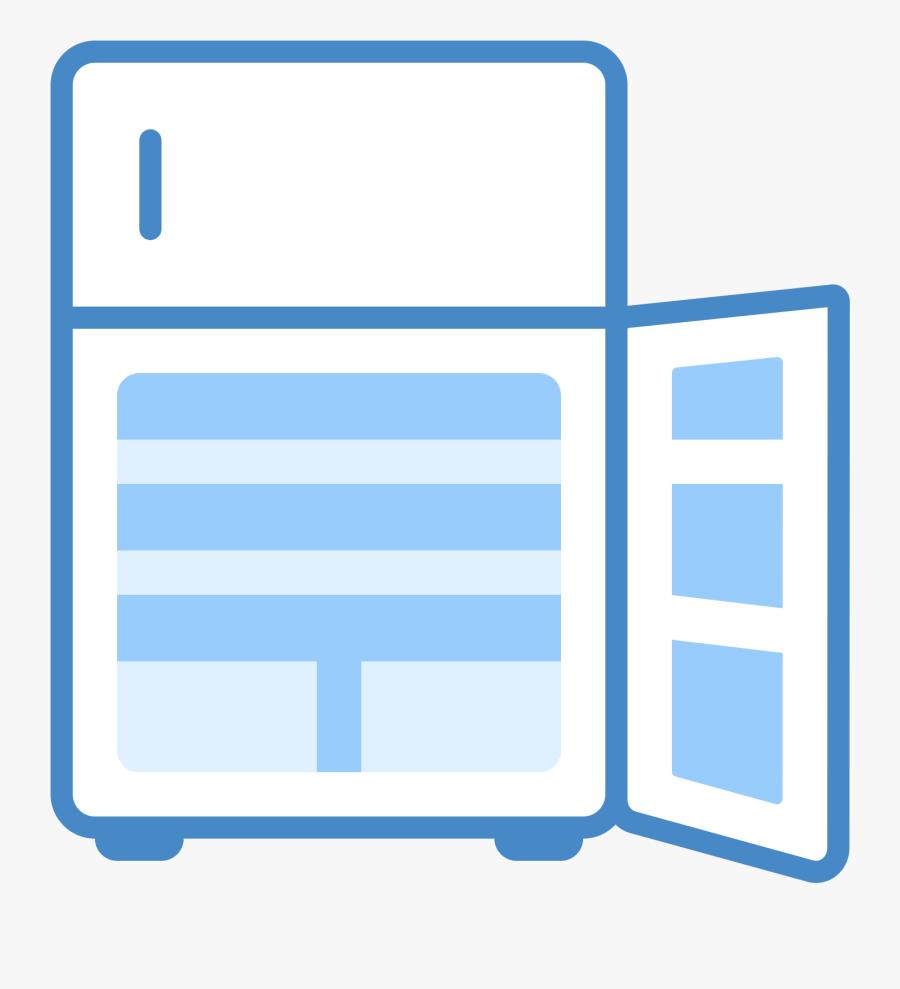 Open Door Icon Png Download Clipart , Png Download - Opened Door Fridge Icon, Transparent Clipart
