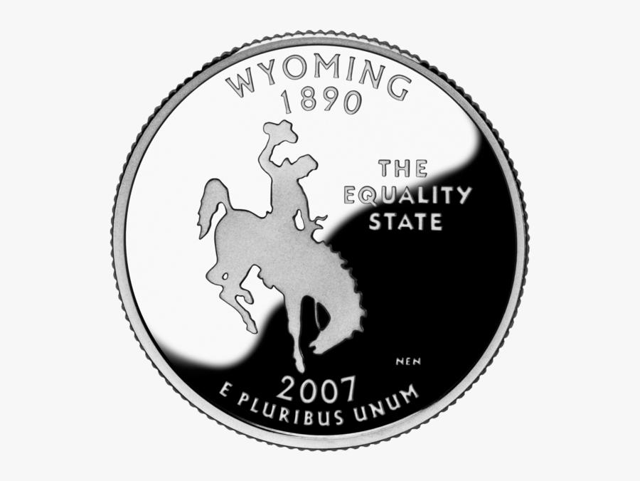 Wyoming State Quarter, Transparent Clipart
