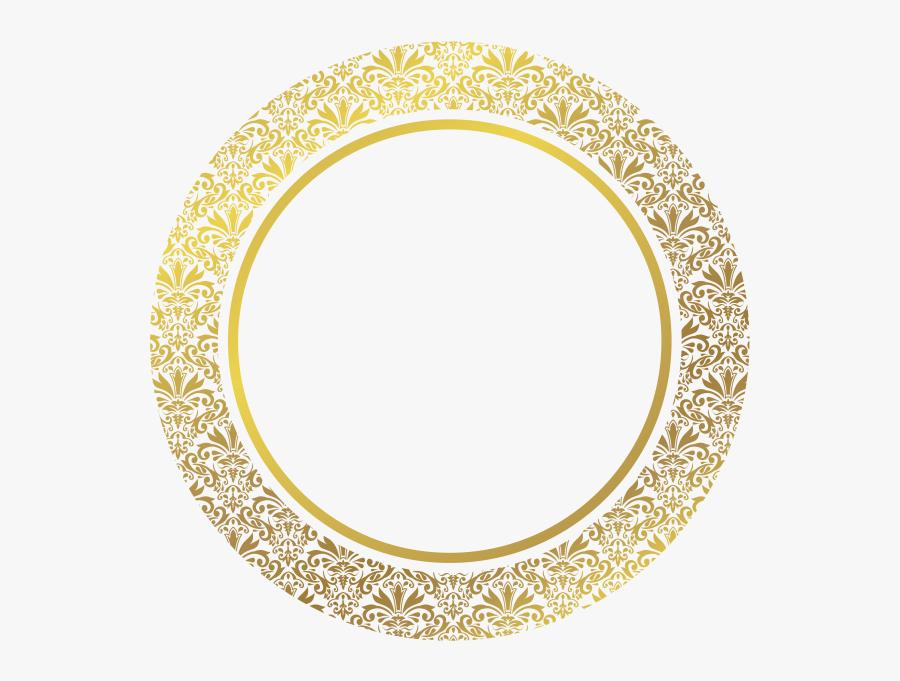 Transparent Gold Oval Frame Png - Grant Park High School Logo, Transparent Clipart