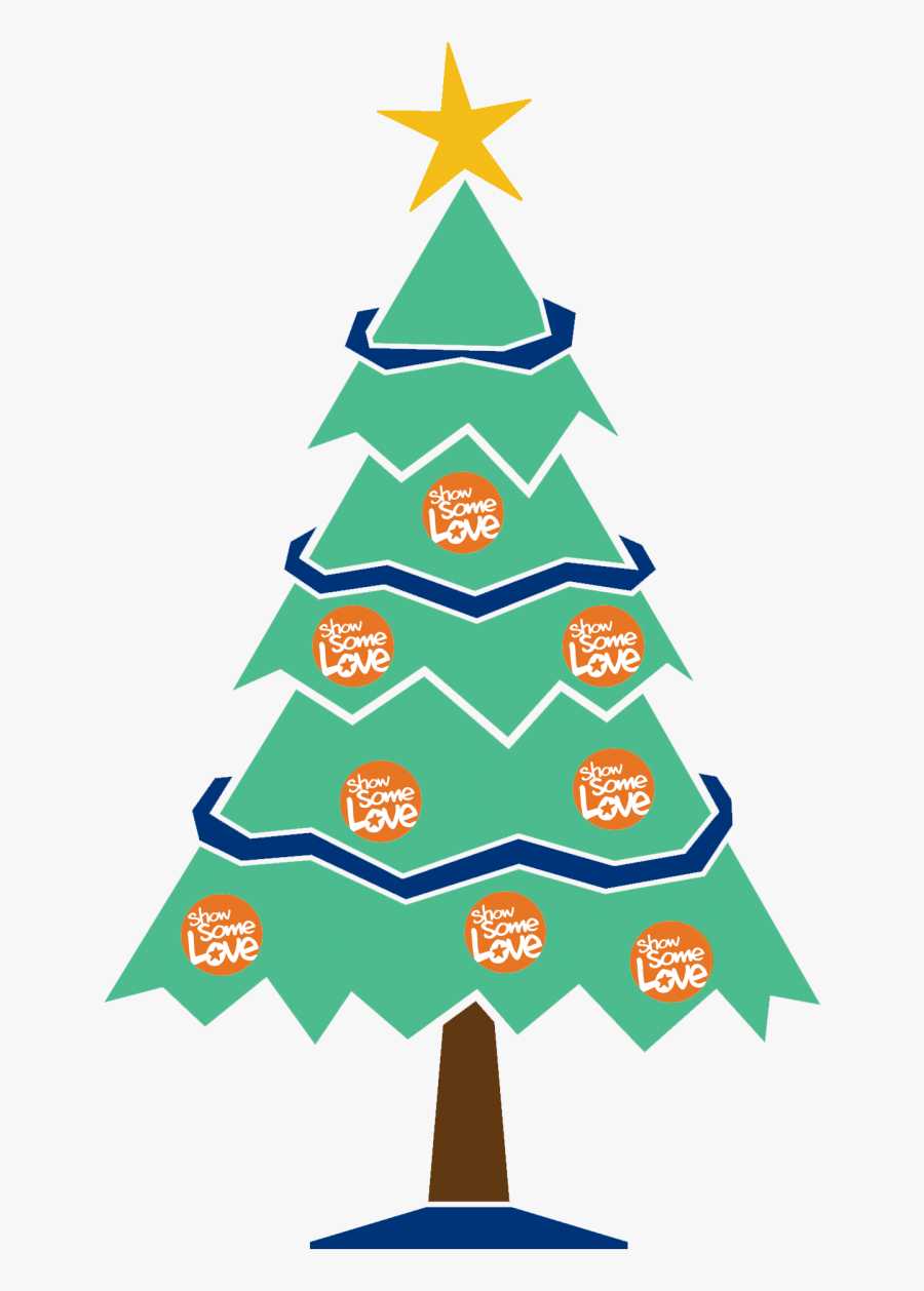 Transparent Merry Christmas Tree Clipart - Drawing For Merry Christmas Tree, Transparent Clipart