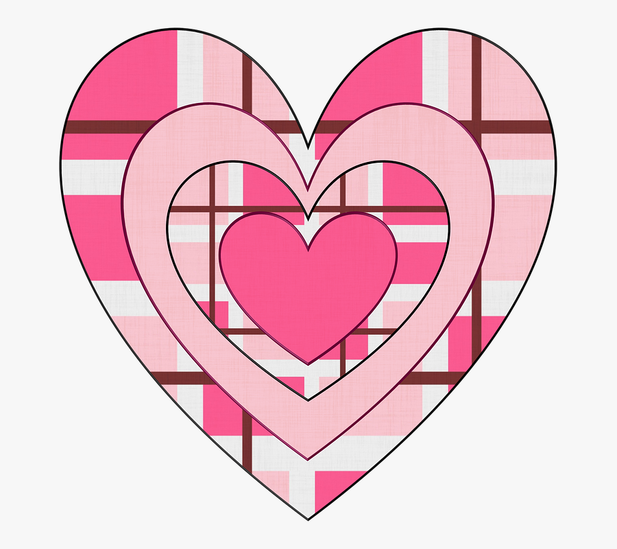 Collection Of Patchwork Heart - Heart Pictures Valentine Clipart, Transparent Clipart