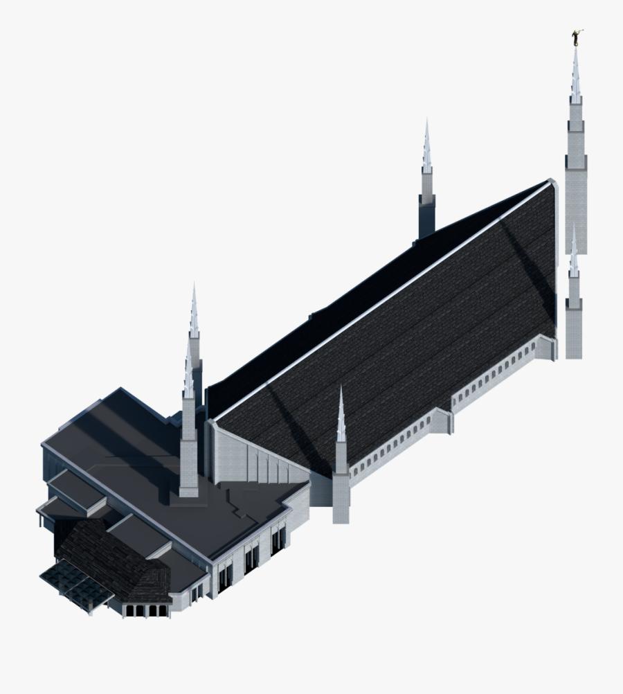 Boise Idaho Temple Latter Day Saints Temple The Church - Brutalist Architecture, Transparent Clipart
