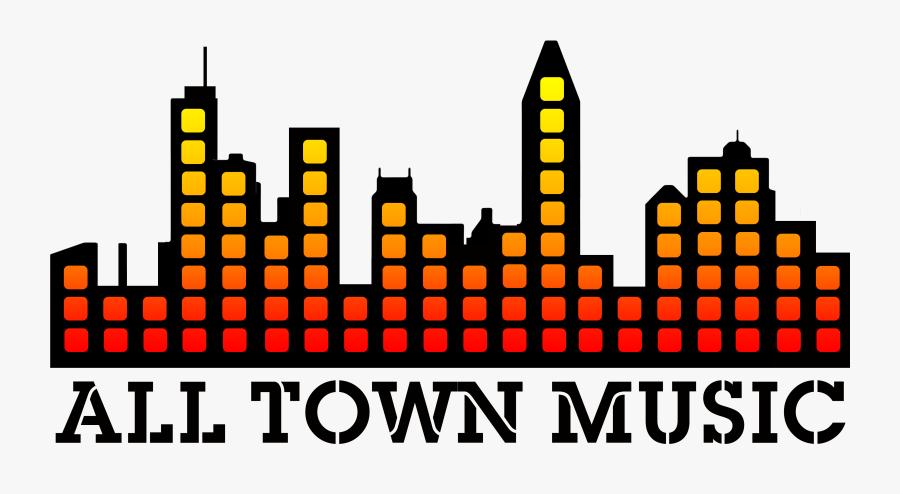 Transparent Live Music Png - All Town Music, Transparent Clipart