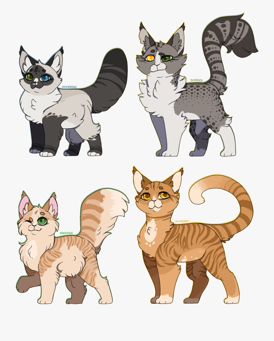 I'm Working On Some Boys Who Look Like Their Moms But - Tabby Warrior Cats Oc, Transparent Clipart