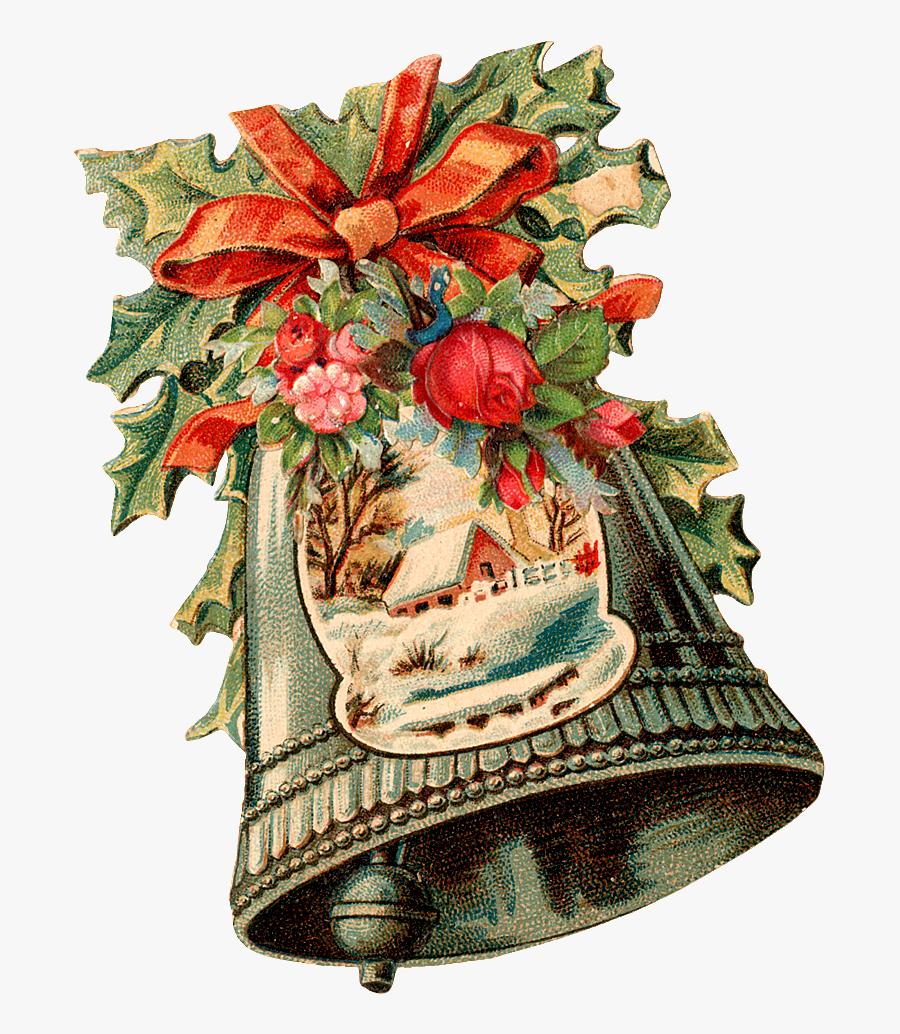 Free Christmas Border Png Vintage, Transparent Clipart
