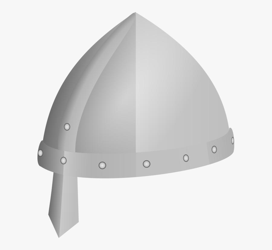 Angle,personal Protective Equipment,headgear - Cartoon Medieval Helmet Png, Transparent Clipart
