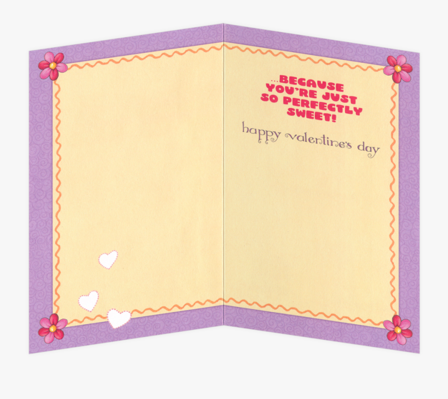Insides Of Valentines Day Cards, Transparent Clipart