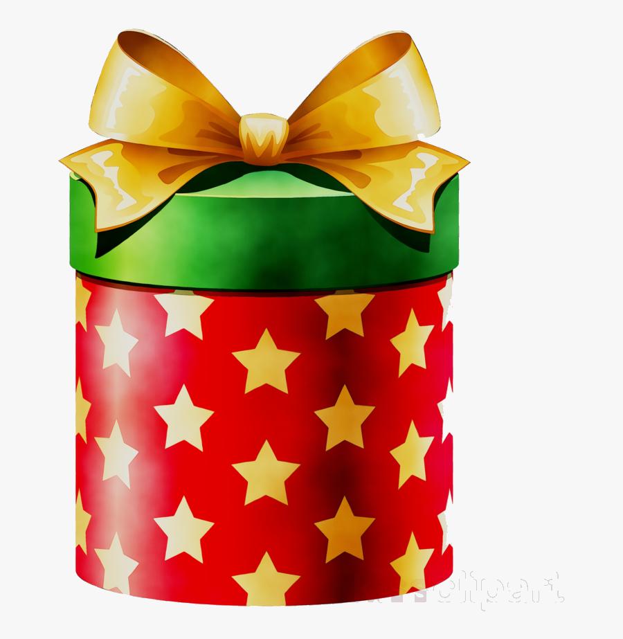 Christmas Present Box Clipart Transparent Png - Gift Box Clip Art, Transparent Clipart