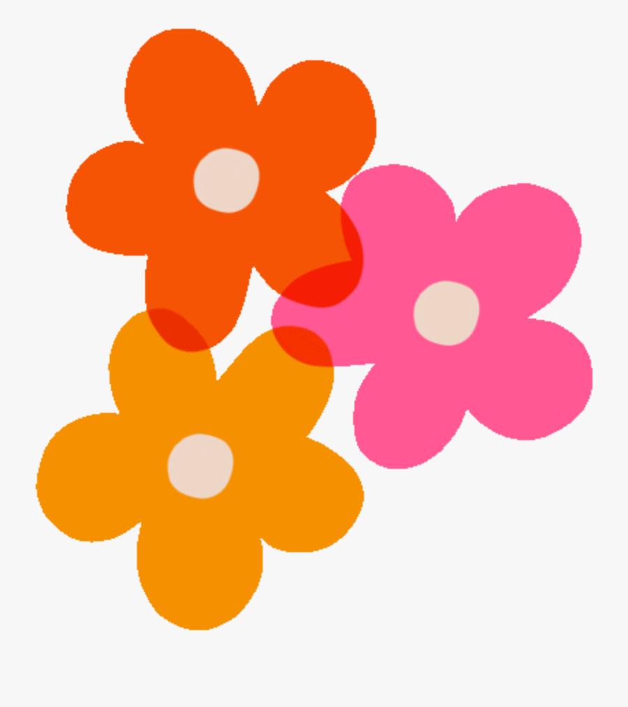 #vsco #rad #groovy #happy #summer #beach #sun #color - Groovy Flowers Animated Gif, Transparent Clipart