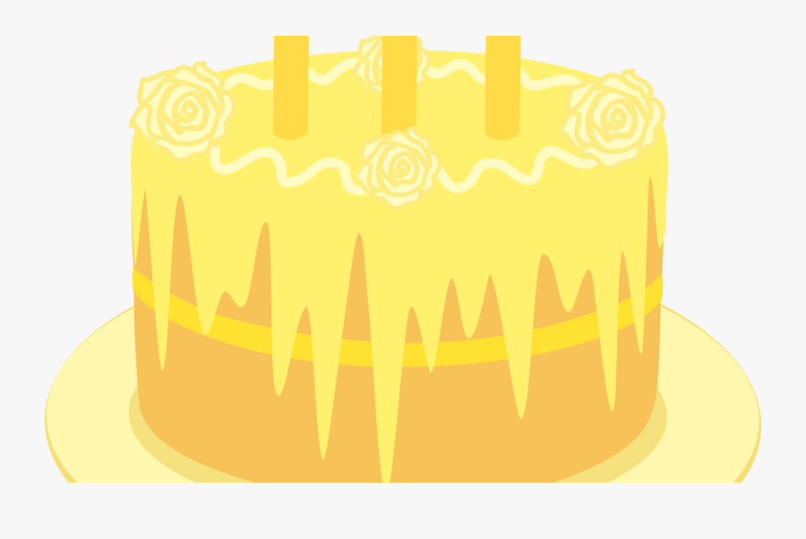 Free Birthday Cakes Pictures With Candles, Download - Birthday Cake, Transparent Clipart