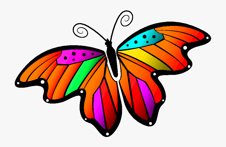 Monarch Butterfly Clipart Gif Animation - Butterfly Clipart Gif, Transparent Clipart