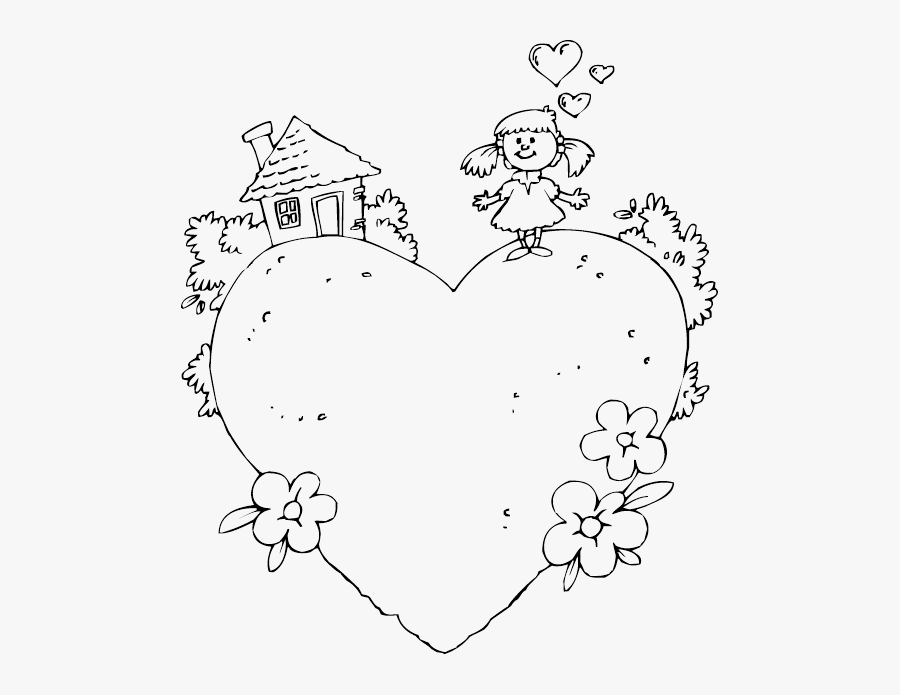 Welcome Home Coloring Pages - Colouring In Welcome Home, Transparent Clipart
