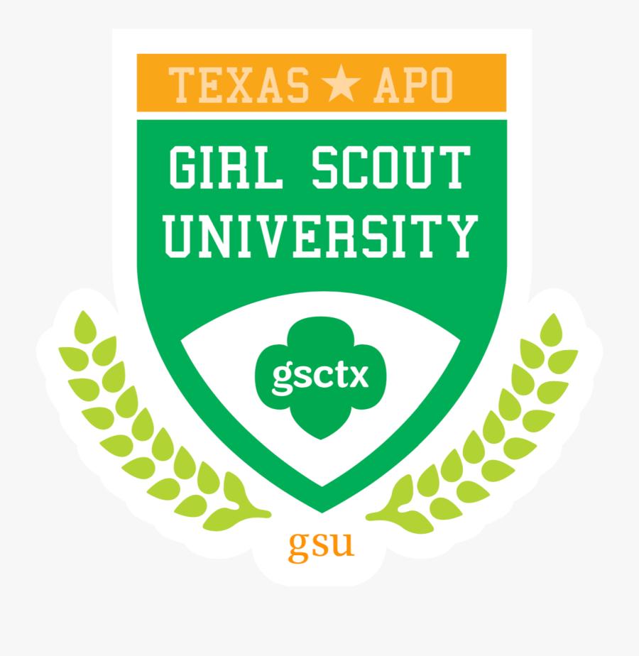 Girl Scout University - James Monroe High School Logo, Transparent Clipart