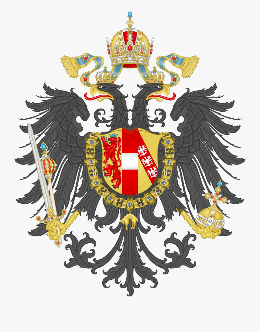 Arms Of The Empire - Austrian Empire Coat Of Arms, Transparent Clipart
