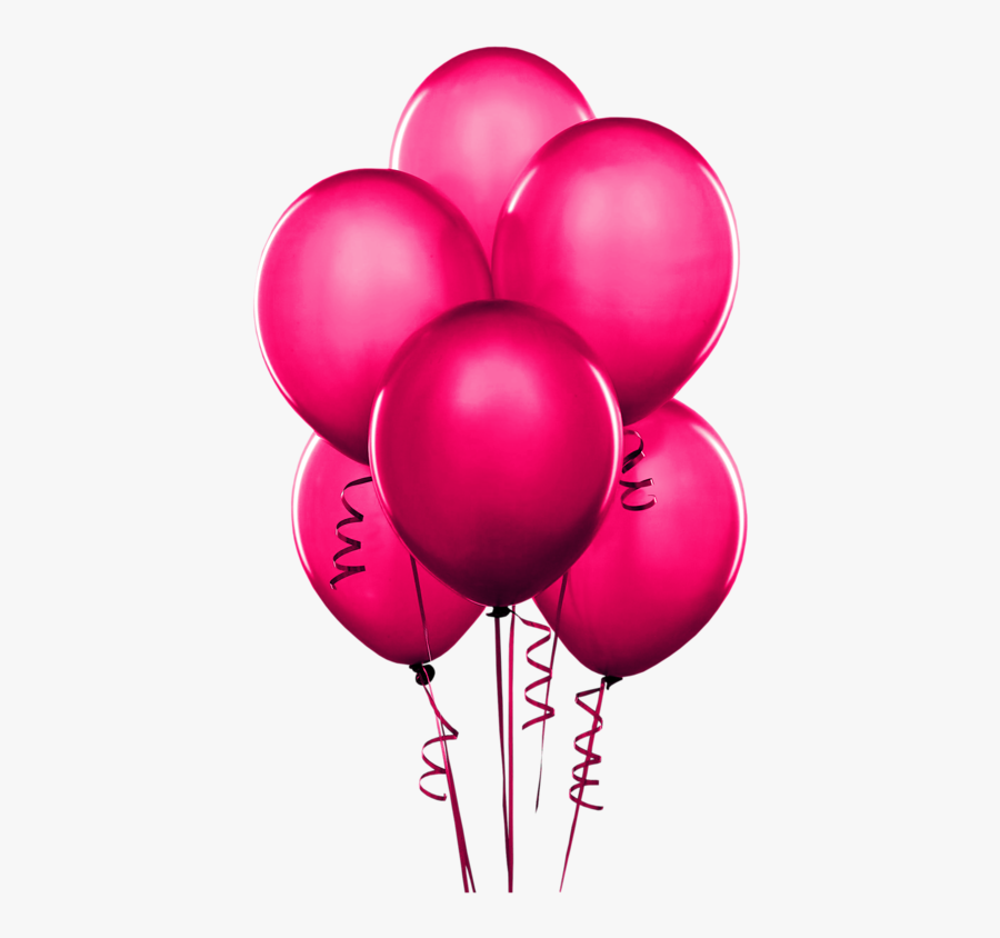Dark Purple Balloons, Transparent Clipart