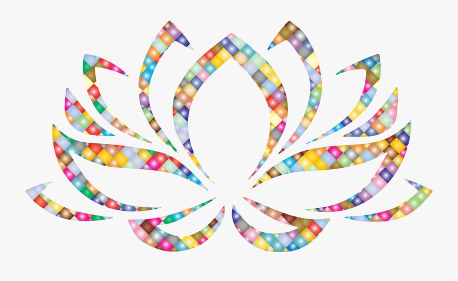 Symmetry,text,body Jewelry - Flor De Lotus Png Transparente, Transparent Clipart
