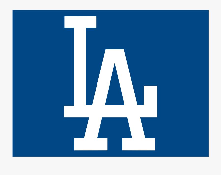 Dodgers Logo Blue - Los Angeles Dodgers Symbol, Transparent Clipart