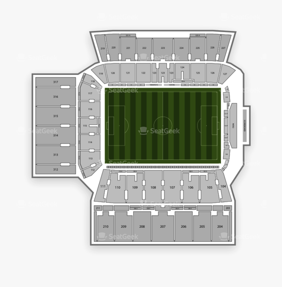 Section 121 Bmo Field , Transparent Cartoons - Bmo Field Seating Chart, Transparent Clipart