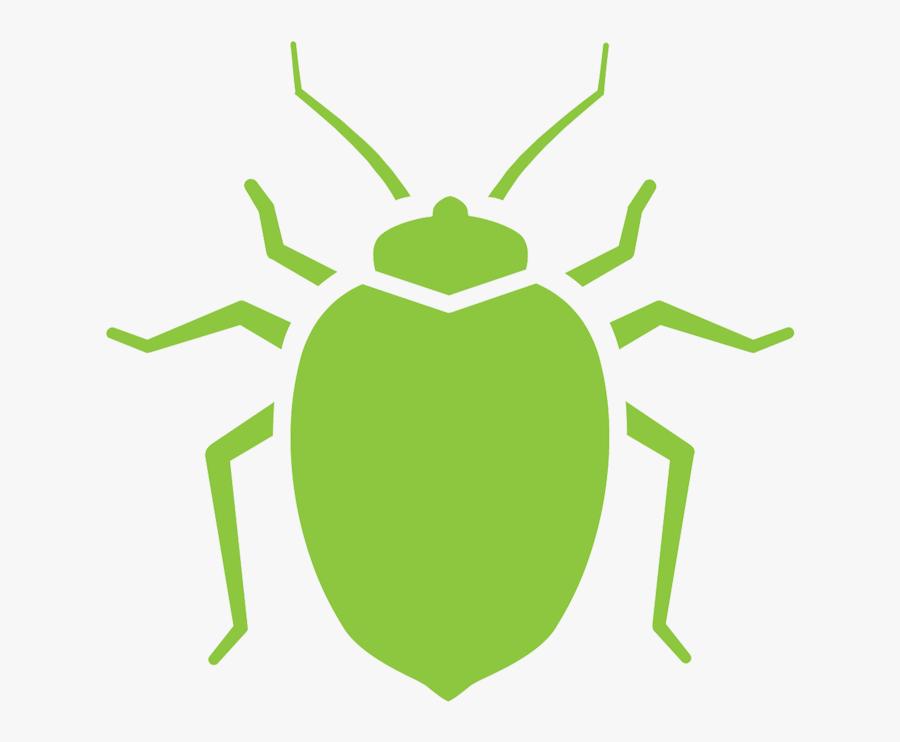 Bed Bugs Black Symbol Png, Transparent Clipart