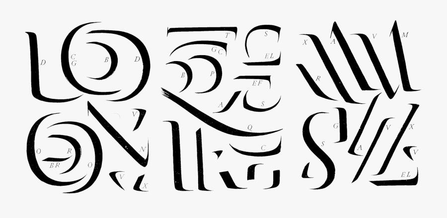 Transparent Origin Clipart - Catich The Origin Of The Serif, Transparent Clipart