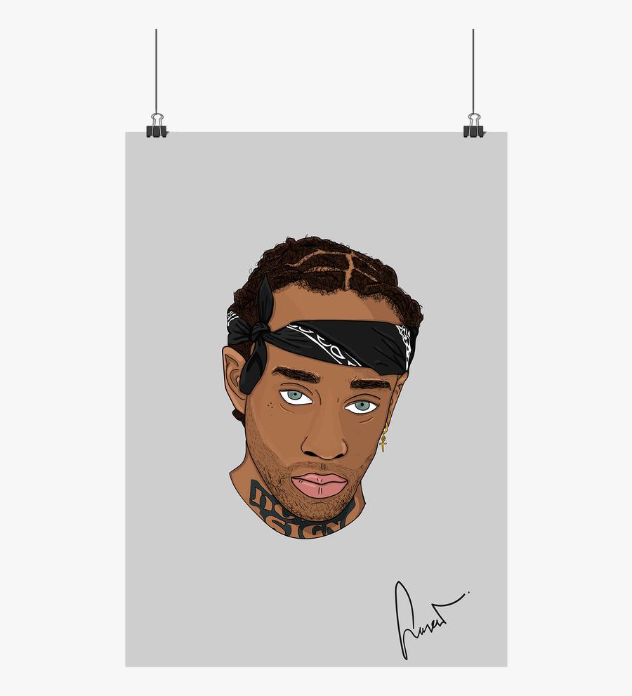 Rapper Vector The Weeknd - Pixel Art Kendrick Lamar Pixel, Transparent Clipart