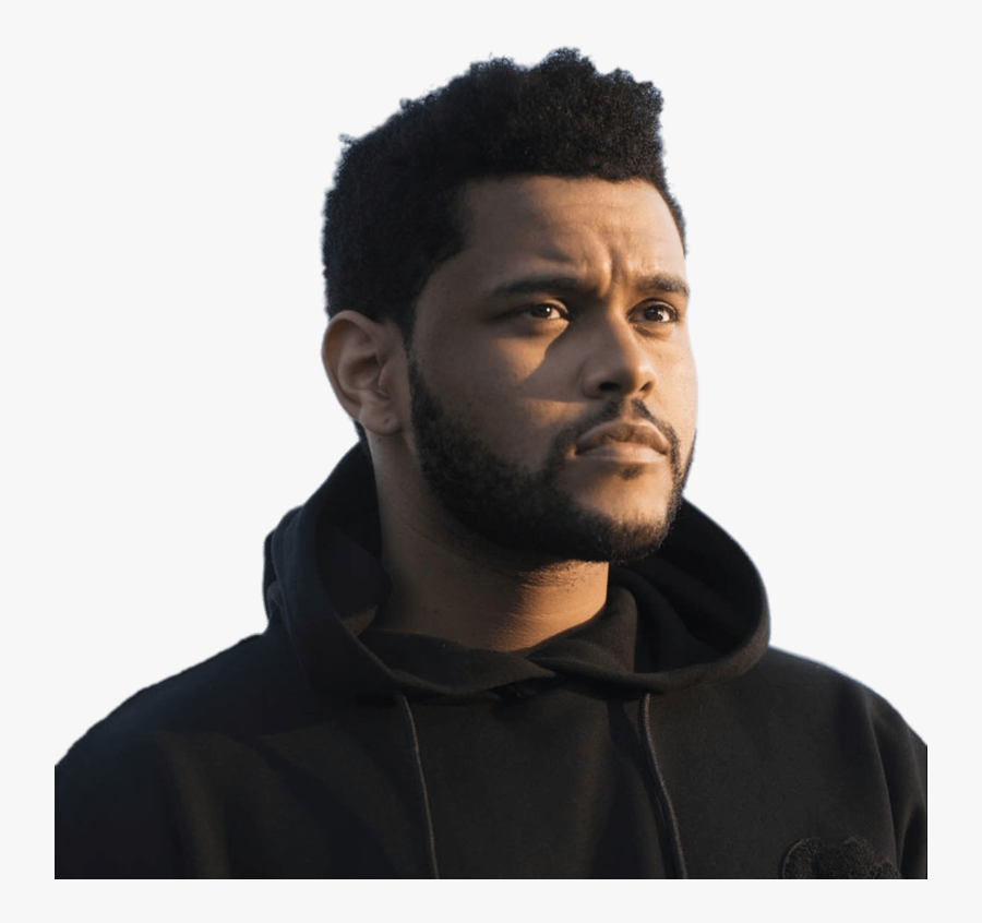 Download Free Png The Weeknd In Black Hoodie - Abel Tesfaye, Transparent Clipart